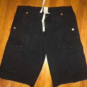 Black True Religion Shorts